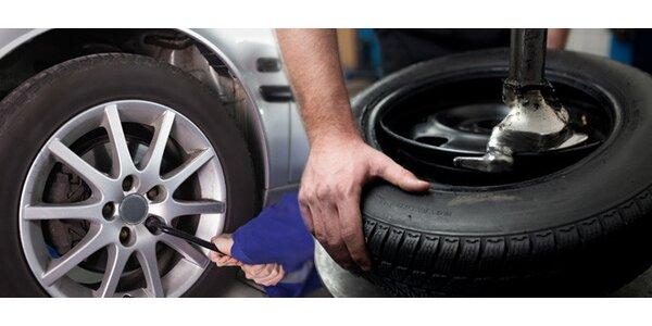 """Kompletní výměna pneu od 13"""" výše"""