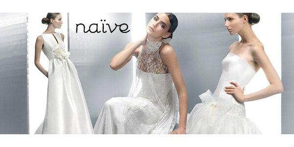 Zapůjčení svatebních šatů z oblíbeného salonu Naive