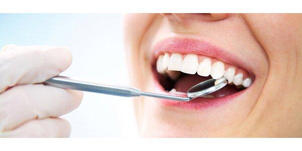 Vyšetření ústní dutiny přístrojem VELscope