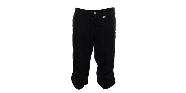 Pánské černé 3/4 kalhoty Exe Jeans