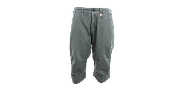 Pánské šedé 3/4 kalhoty Exe Jeans
