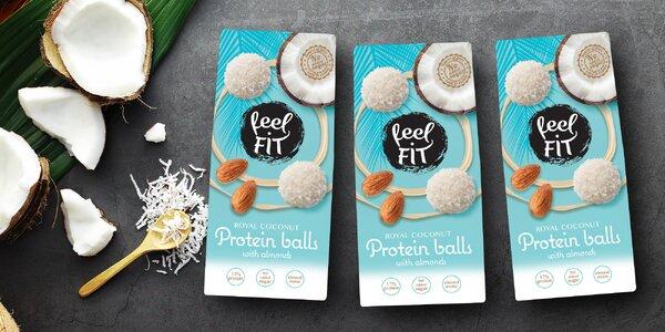 Proteinové kuličky Feel FIT s mandlí a kokosem
