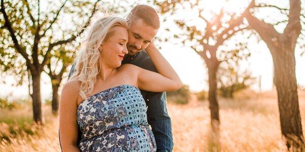 Focení pro rodiny, těhotné v interiéru či exteriéru