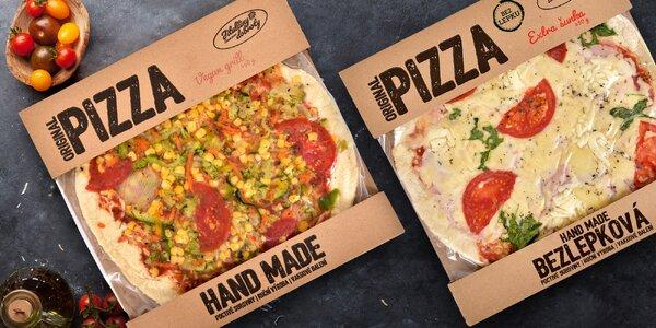 Čerstvá chlazená pizza: vegan, klasik i bezlepková