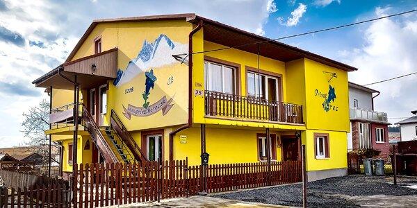 Apartmán ve Vysokých Tatrách vč. slev do aquaparků