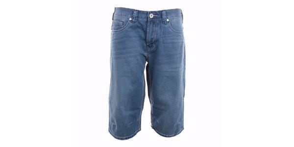 Pánské modré denimové kraťasy Exe Jeans 18b7b9ae9b