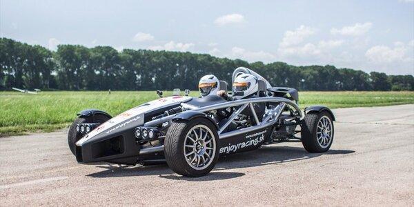 Jízda v jednom z nejrychlejších vozů světa