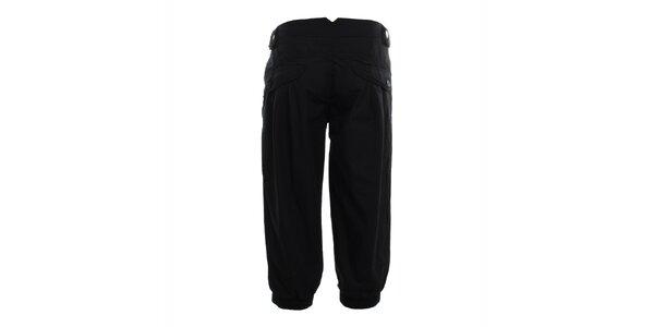 Dámské černé capri kalhoty Exe Jeans