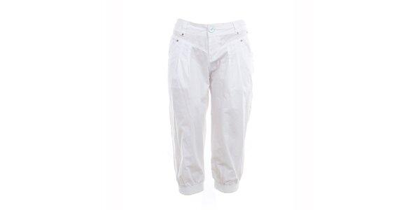 Dámské bílé capri kalhoty Exe Jeans