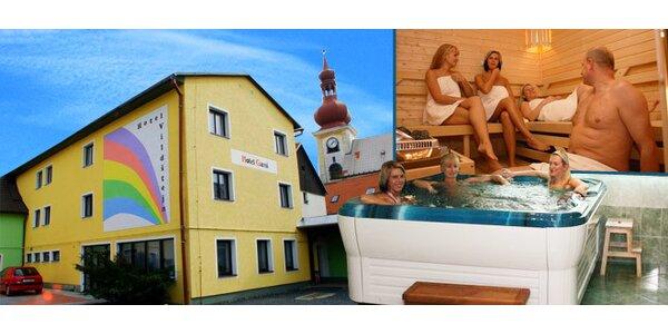 Tři dny relaxace pro DVA. Vířivka, sauna!