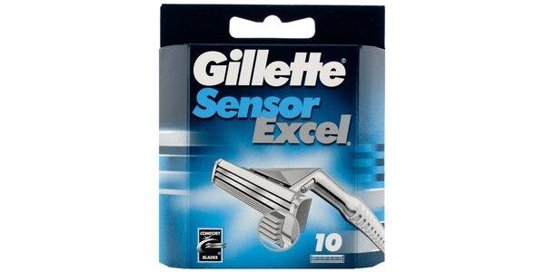 Gillette Sensor Excel náhradní hlavice 10ks