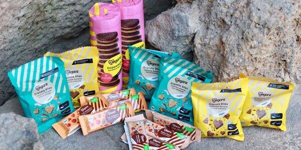 Mlsání Veganz: bio a raw sušenky, tyčinky i medvídci