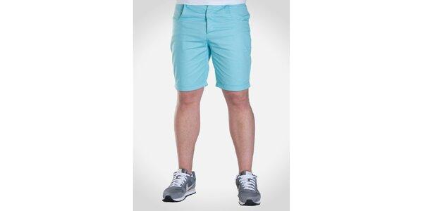 Pánské azurové šortky Skank