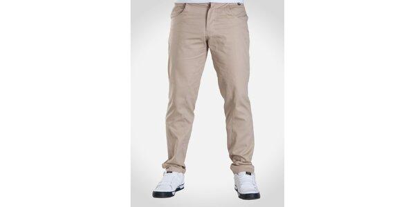 Pánské béžové kalhoty Skank