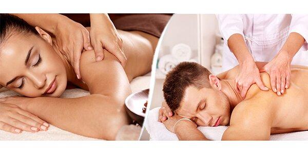 Precizní masáž zad a šíje
