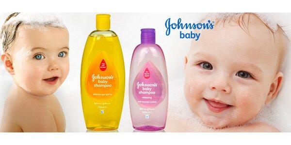 """Šampóny Johnson´s baby """"Už ani slzu"""""""