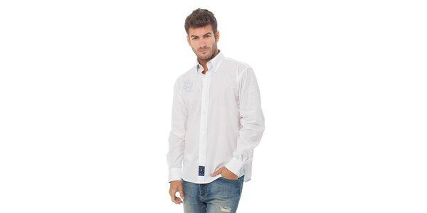 Pánská bílá košile Valecuatro