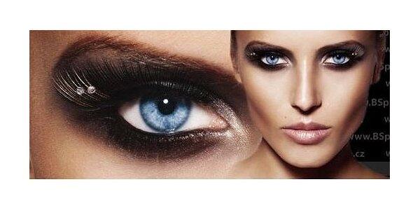 Prodloužení a zhuštění řas metodou řasa na řasu Blink lash Stylist & Care +…