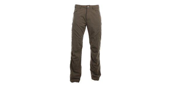 Pánské šedo-hnědé volnočasové kalhoty Hannah