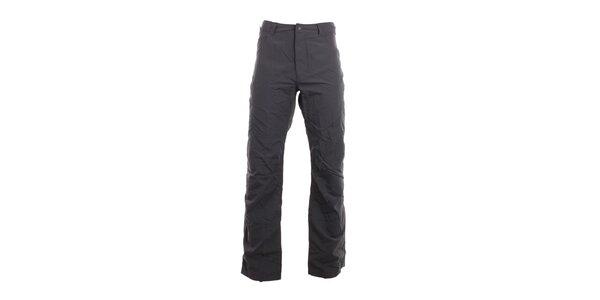 Pánské tmavě šedé volnočasové kalhoty Hannah