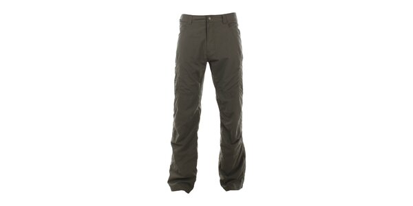 Pánské olivově hnědé volnočasové kalhoty Hannah