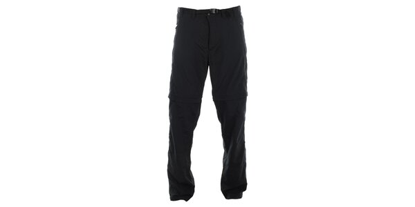 Pánské černé rychleschnoucí kalhoty Hannah