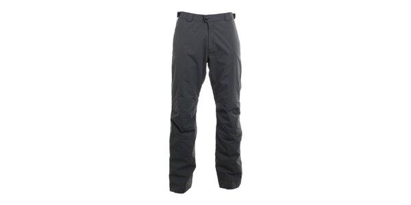 Pánské grafitově šedé nepromokavé kalhoty Hannah