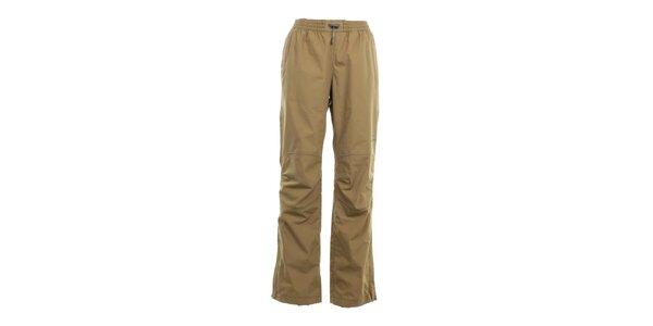 Pánské pískově hnědé kalhoty do gumy Hannah