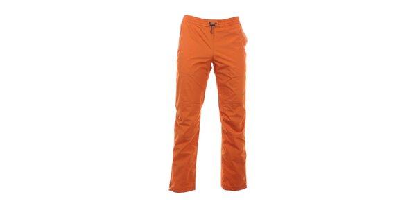 Pánské zářivě oranžové kalhoty do gumy Hannah