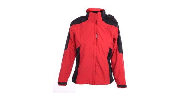Dámská červeno-černá bunda Hannah