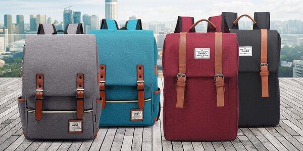Trendy batohy v retro stylu na výlety i do města