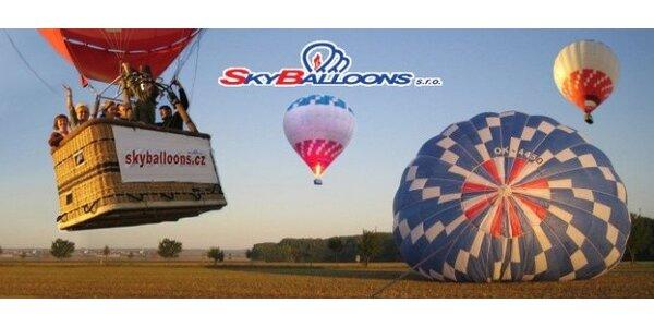 Vyhlídkový let balonem pro jednoho na 60-90 minut