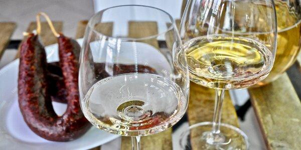 Vouchery v hodnotě 150 až 800 Kč na stáčené víno