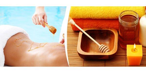 Medová masáž v délce 60 minut