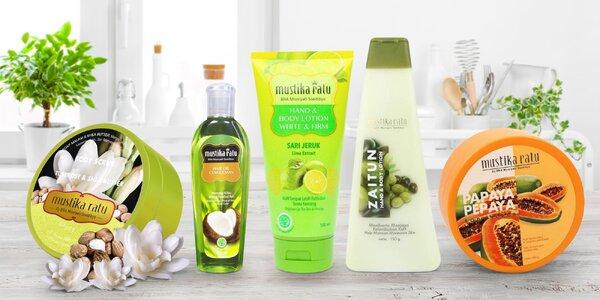 Přírodní kosmetika: peeling i vlasový olej