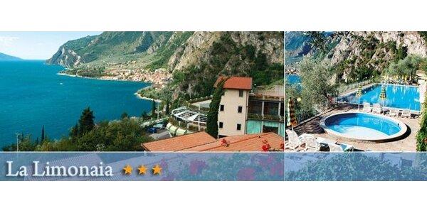 3 noci s polopenzí v 3* hotelu u Lago Di Garda!