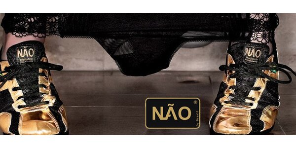 Brazilské ručně šité boty NÃO