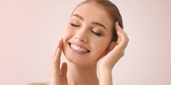 Hloubkové čištění pleti obličeje nebo zad