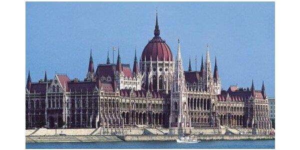 Nocleh v centru Budapešti se snídaní a dva dny s průvodcem po jejích krásách!