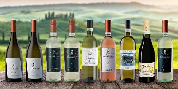 Italská suchá vína: Pinot Grigio i Chardonnay