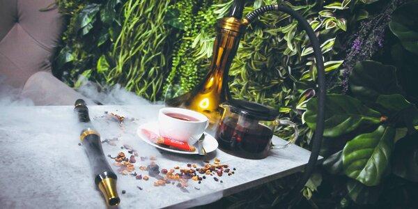 Vodní dýmka s tabákem dle výběru, kávou či čajem