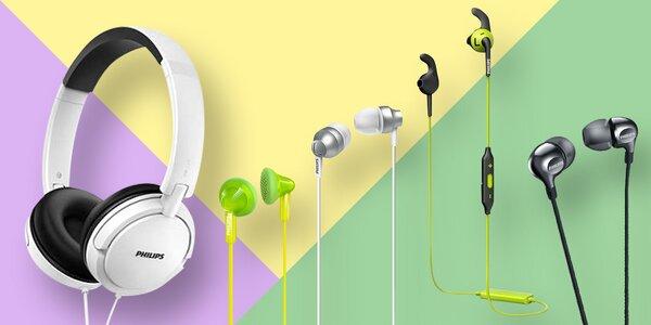 Sluchátka Philips: pecky, přes hlavu i bezdrátová
