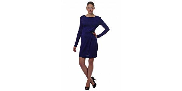 Dámské tmavě modré šaty Miss Sixty