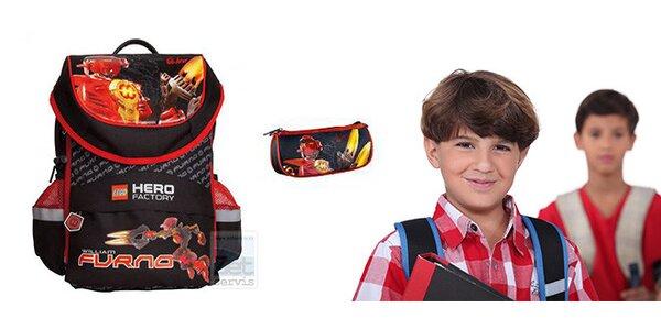 Školní batoh LEGO Hero Factory + zdarma pouzdro LEGO Hero Factory