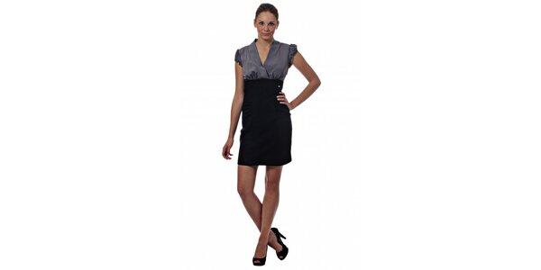 Dámské dvoubarevné mini šaty Miss Sixty