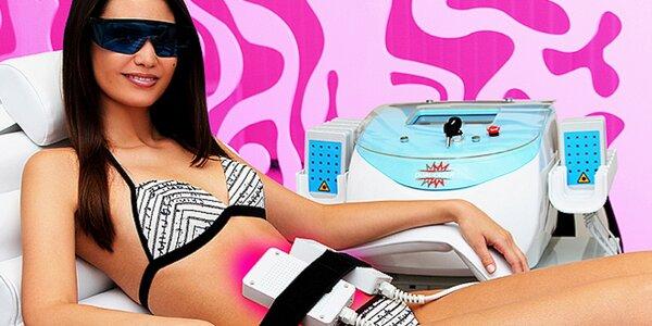 Ošetření duálním laserem, který štěpí tuky