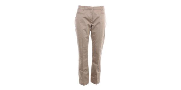 Dámské béžové kalhoty s puky Nougat London