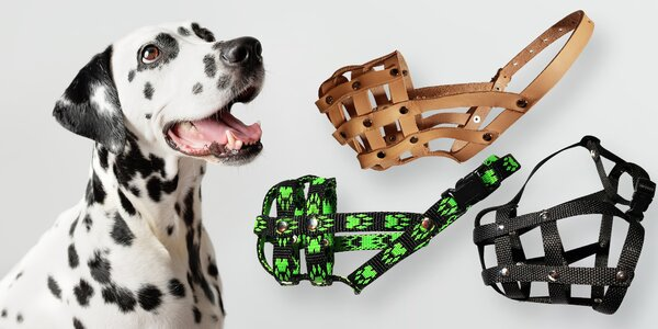 Náhubky české výroby pro všechna psí plemena