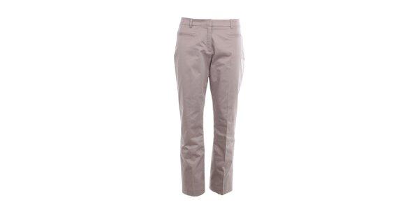 Dámské šedo-béžové kalhoty s puky Nougat London