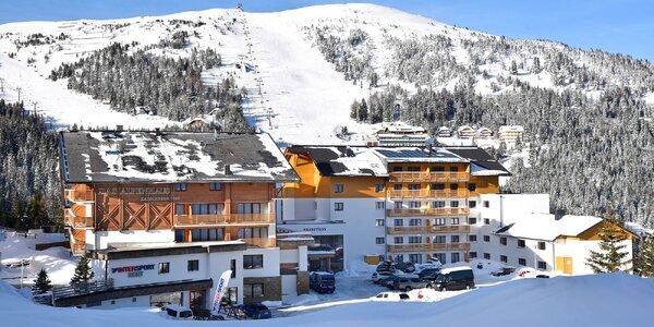 Aktivní relax v Rakousku: hotel u vleků, wellness